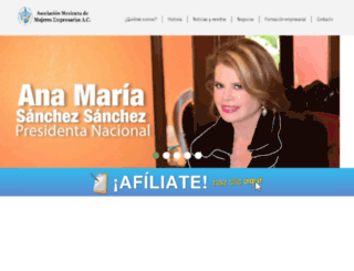 ammjenacional.org screenshot
