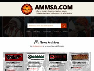 ammsa.com screenshot