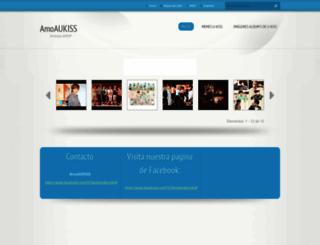 amoaukiss.webnode.es screenshot
