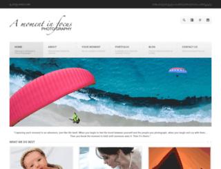 amomentinfocus.com.au screenshot