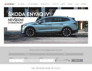 amond.cz screenshot