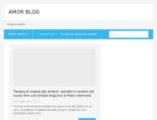 amorblog.it screenshot