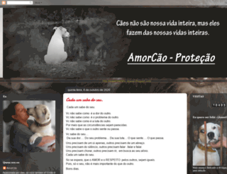 amorcaoprotecao.blogspot.com screenshot