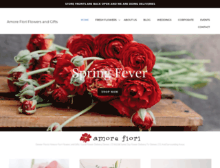 amore-fiori.com screenshot