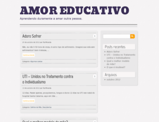 amoreducativo.wordpress.com screenshot