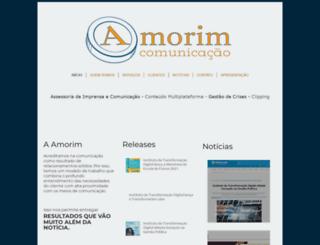 amorimcomunicacao.com.br screenshot