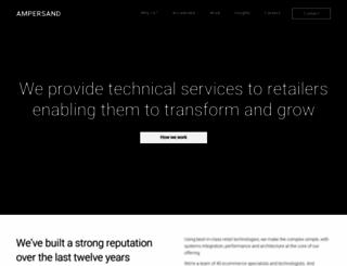 ampersandcommerce.com screenshot