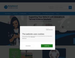 amphenol-jaybeam.com screenshot