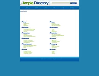 ampledirectory.com screenshot