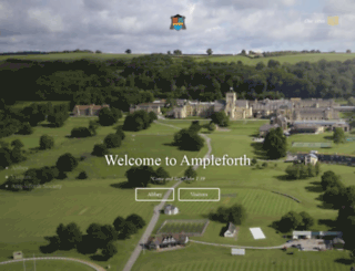 ampleforth.org.uk screenshot