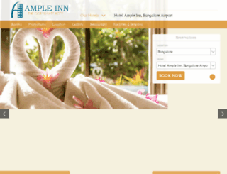 ampleserviceapartments.com screenshot