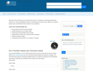 ampminsure.org screenshot