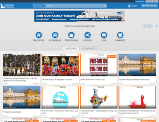 amritsar.classi4u.com screenshot