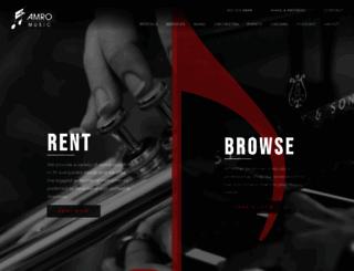 amromusic.com screenshot