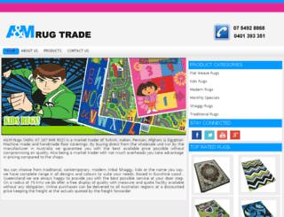 amrugs.com.au screenshot