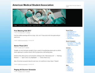 amsa.truman.edu screenshot