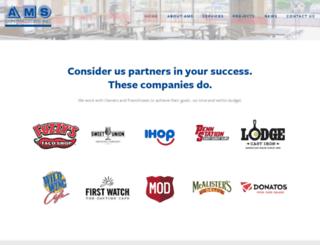 amscontractorsinc.com screenshot