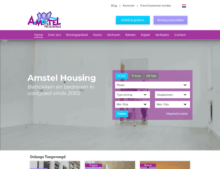 amstelhousing.nl screenshot