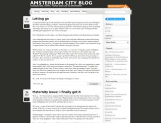 amsterdamcityblog.com screenshot
