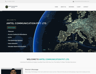 amtelcommunication.com screenshot