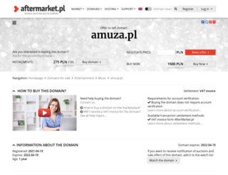 amuza.pl screenshot