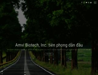 amvibiotech.com screenshot