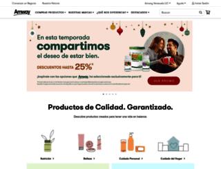 amway.com.ve screenshot