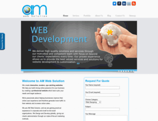 amwebsolution.com screenshot