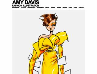 amydavis.com screenshot