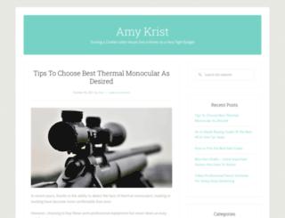 amykrist.org screenshot