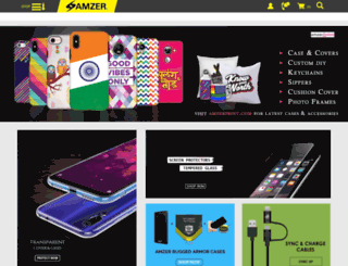 amzer.co.in screenshot