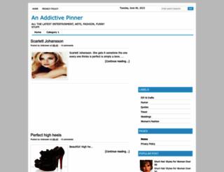 an-addictive-pinner.blogspot.com screenshot