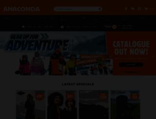 anaconda.com.au screenshot  sc 1 st  Accessify & Access anaconda.com.au. Anaconda | Anaconda Australia - Play More ...