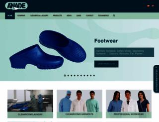 anade.com screenshot