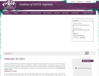 anaedu.org screenshot