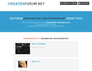 anafranil7602.createaforum.net screenshot