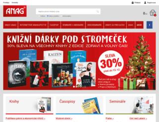 anag.cz screenshot