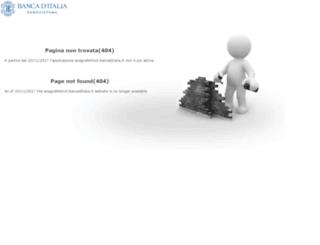anagrafetitoli.bancaditalia.it screenshot