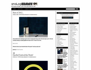 analoggiant.blogspot.com screenshot