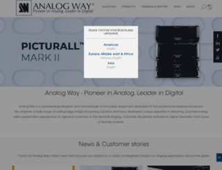 analogway.com screenshot