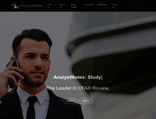 analystnotes.com screenshot