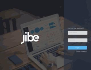 analytics.jibe.com screenshot