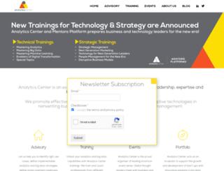analyticscenter.com screenshot