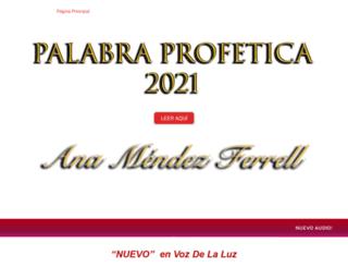 anamendezferrell.com screenshot