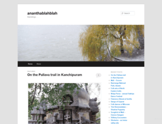ananthablahblah.wordpress.com screenshot