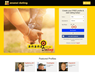 ananzidating.co.za screenshot