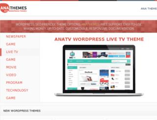 anathemes.com screenshot