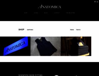 anatomica-sapporo.com screenshot