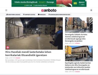 anboto.org screenshot