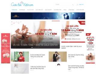ancarat.cuoihoivietnam.com screenshot